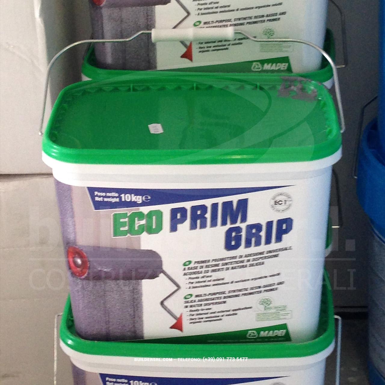 Eco Prim Grip Mapei. - Primer di sottofondo a base di resine sintetiche acriliche ed inerti silicei.