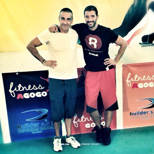 Geom. Giovanni Pecora con Alessandro Oliveri - Presso Agogò Fitness