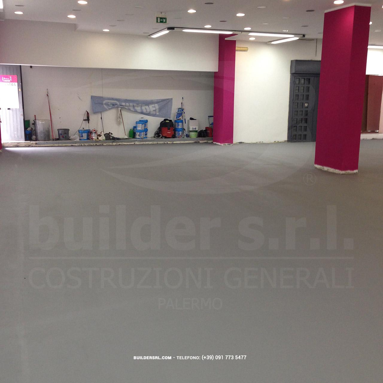 Pavimentazione in resina sportiva completata - da Agogò Fitness.
