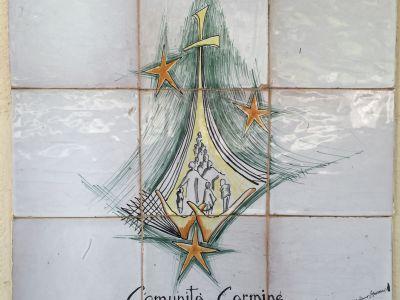 Builder esegue lavori di ristrutturazione e di impermeabilizzazione - presso la Casa di Preghiera della Comunità Carmine ad Altofonte, in provincia di Palermo.