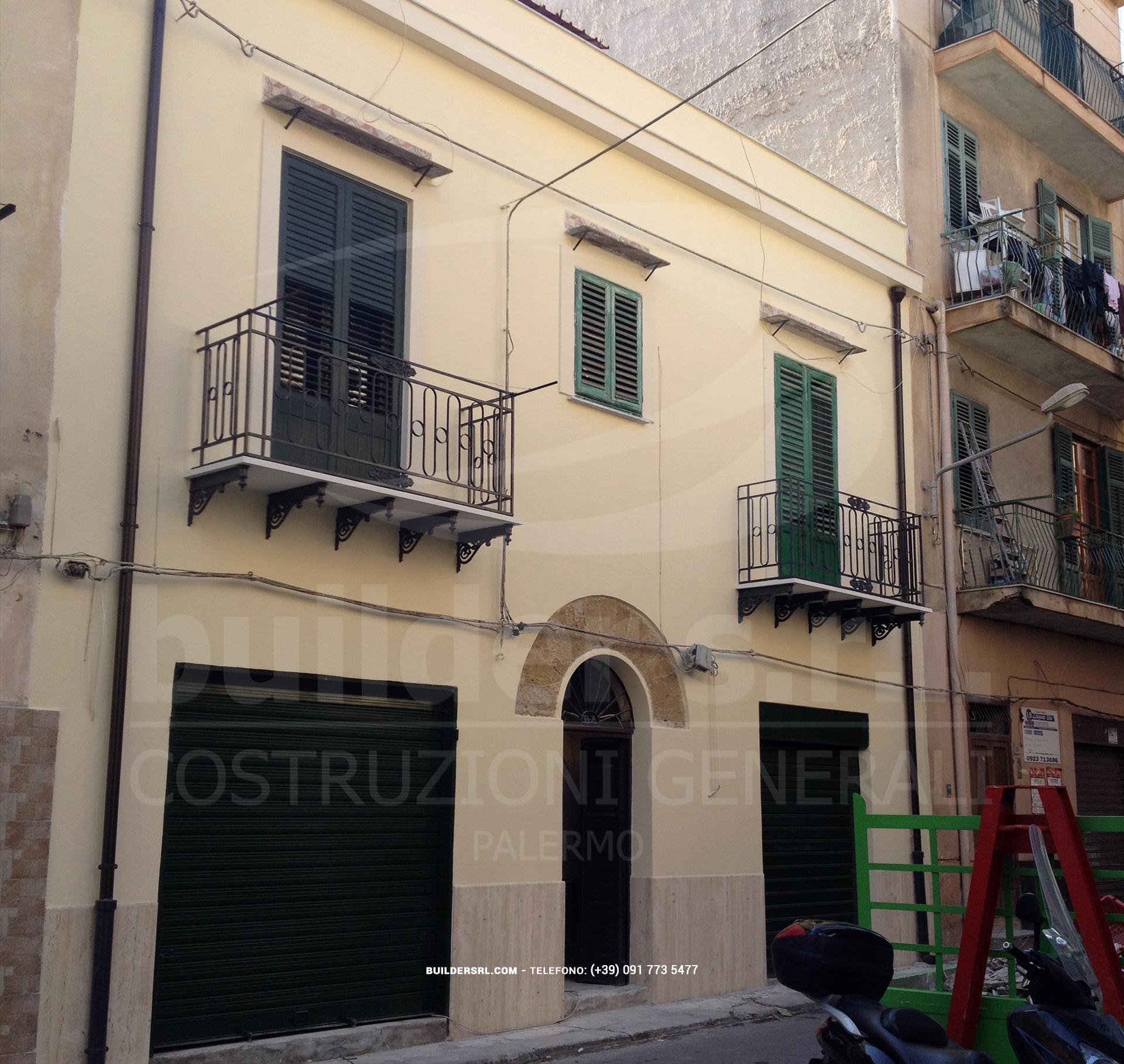 Ristrutturazione completata. - La manutenzione ordinaria è stata eseguita sia per il prospetto principale che per il tetto.