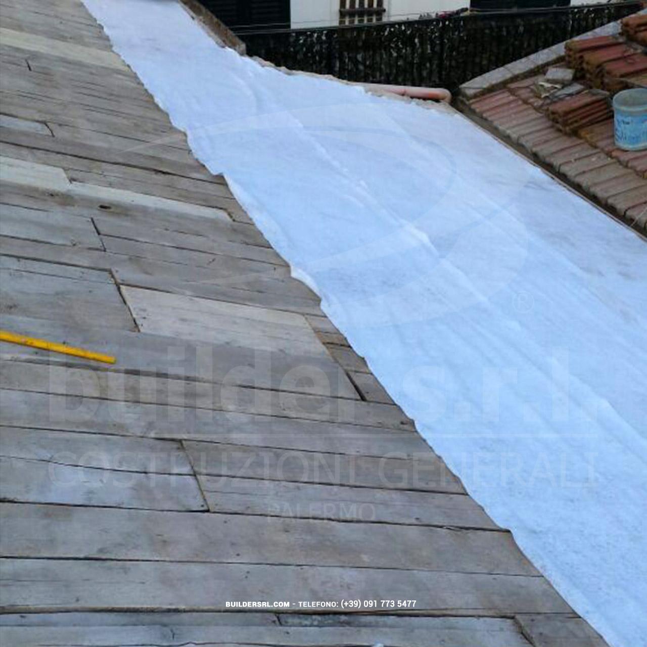 impermeabilizzazione del tetto e manutenzione ordinaria